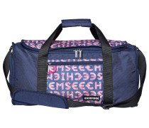 Tasche 'Duffle M' kobaltblau / pink