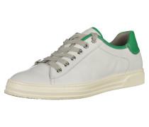 Sneaker grün / weiß