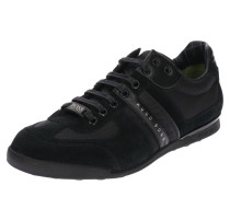 Sneaker 'Akeen' hellgrau / schwarz