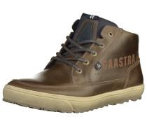Sneaker braun / dunkelgrau