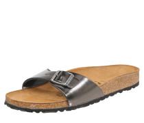 Sandale 'Madrid Metallic' anthrazit