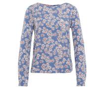 Blusenshirt mit Muster hellblau