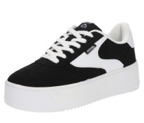 Sneaker 'claus' schwarz / weiß