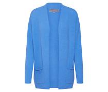 Strickjacke 'AbelinaL' blau