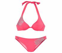 Bügel-Bikini silber / pink