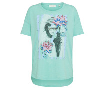 T-Shirt mint / rosa