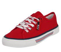 Sneaker weiß / rot