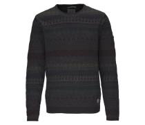 Pullover anthrazit / mischfarben