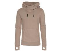 Sweatshirt mit Daumenlöchern 'Tayo' grau