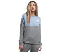 Sweatshirt 'Lil' hellblau / graumeliert