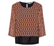 Shirt 'Brynhild' mischfarben / camel