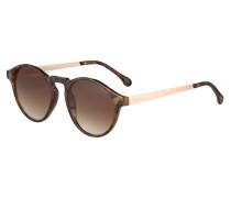 Sonnenbrille 'devon Metal' braun / rosé