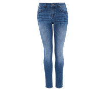 Basic Skinny-Jeans blue denim