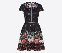 Kleid 'daissie' mischfarben / schwarz