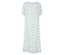 Kleid 'Rahima' blau / weiß