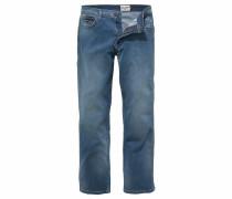 Stretch-Jeans 'Texas' blue denim