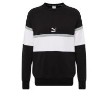 Sweatshirt ' XTG Crew' schwarz / weiß