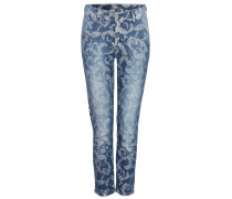 Jeans 'Romira' blue denim / weiß