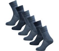 Socken navy / taubenblau
