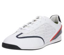 Sneaker 'Maze_Lowp_logo' navy / weiß