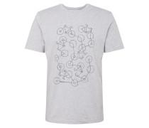 Shirt 'jaames Bike Chaos' hellgrau