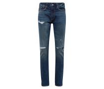 Jeans 'slim STR Repair' blue denim