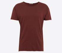 T-Shirt 'Roger Slub' rostrot