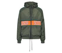 Jacke khaki / lavendel / orange