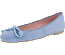 Klassische Ballerinas himmelblau