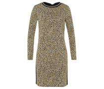 Kleid gelb / grau / schwarz