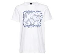 T-Shirt 't-Diego-Sl Hemd' blau / weiß