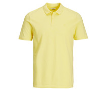 Lässiges Poloshirt gelb