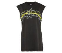 Shirt 'lucas' gelb / schwarz