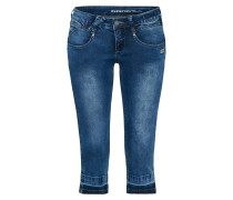 Jeans 'nena 3/4 - stretch denim' blue denim
