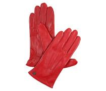 Handschuhe 'Smart Classic Nappa' rot