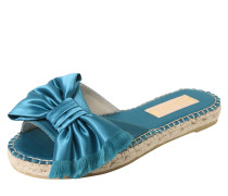 Slipper 'rama' aqua