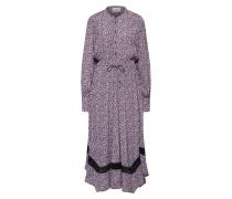 Kleid 'Aida' lila / schwarz