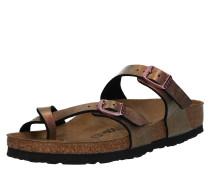 Sandale 'Mayari' weinrot