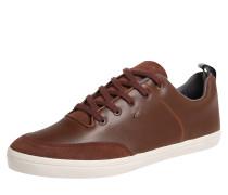 Sneaker aus Leder 'castel Lea' braun