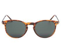 Sonnenbrille braun / bronze / silber