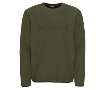 Sweatshirt 'tame' dunkelgrün