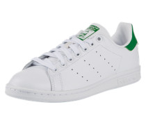 Flacher Sneaker aus Leder 'Stan Smith'