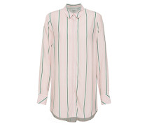 Bluse 'Ramey' grün / rosa / weiß