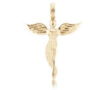 Halsschmuck: Anhänger ohne Kette mit Zirkonia 'Engel Erp-Angel-G'