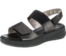 Komfort-Sandalen schwarz