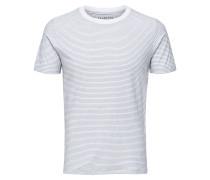 Streifen T-Shirt blau / weiß