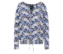 Bluse 'oilie' creme / navy