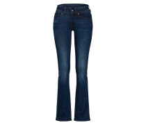 'Midge Saddle Mid Bootleg' Jeans blau