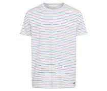 T Shirt mischfarben / weiß