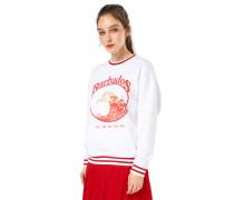 Sweatshirt 'Barbados' weiß